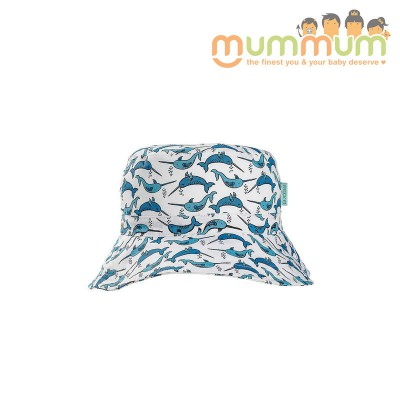 Acorn Narwhale bucket hat M