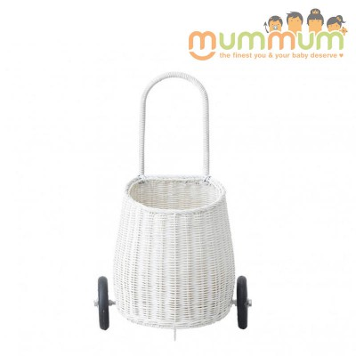 Olli Ella Luggy Basket White@ETA 28th April