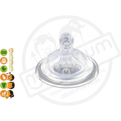 Haakaa Wide Neck Silicon Anti-Colic Nipple M 2pcs