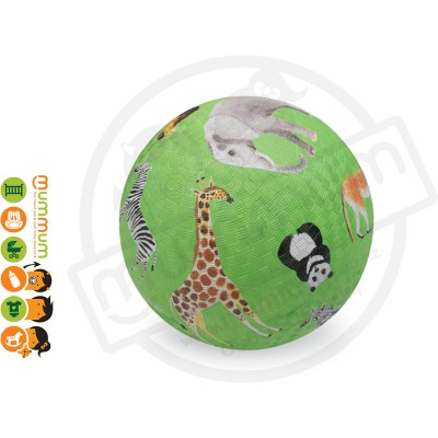 "Crocodile Creek 5"" Playground Ball Wild Animals"