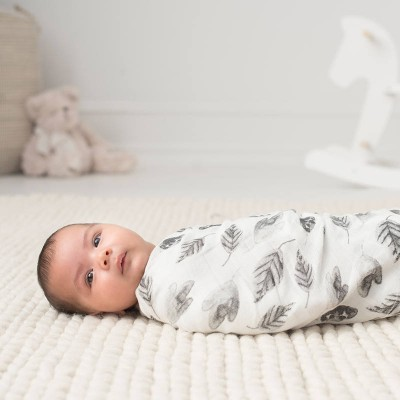 Aden and Anais Muslin Wrap Silk foragers Single Swaddle