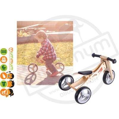 Runna Wooden Mini Bike 12m+