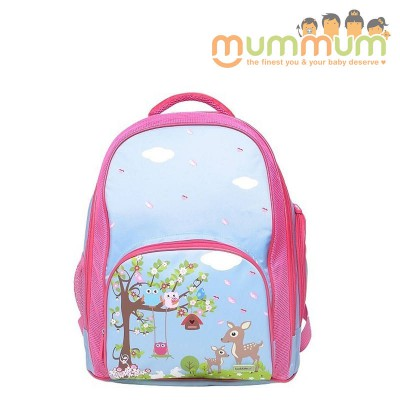 Bobble Art Large Size School Backpack -- Woodland