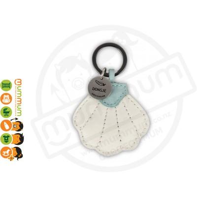 Donsje Wookie Key Ring Charm Shell