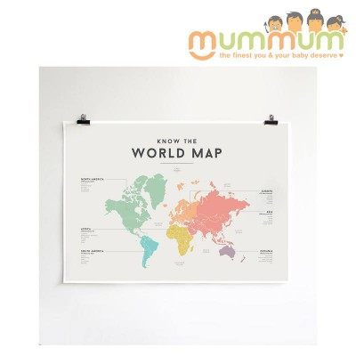 Squared World Map