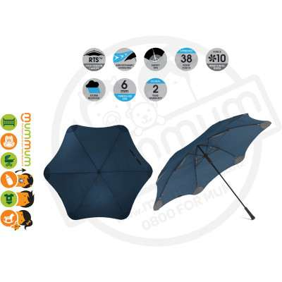 Blunt Umbrella XL Navy Blue