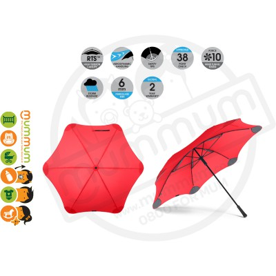 Blunt Umbrella XL Red