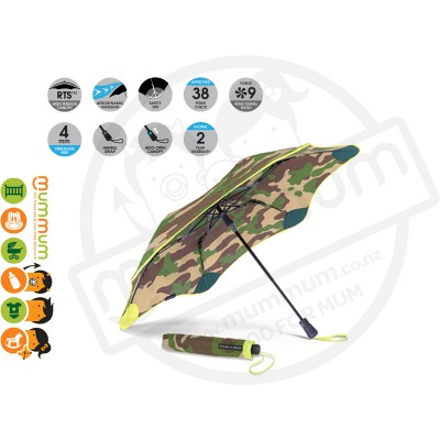 Blunt Umbrella XS Metro Camouflage Yellow