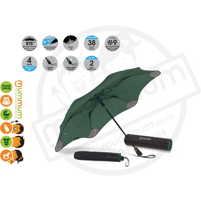 Blunt Umbrella XS Metro Forrest Green