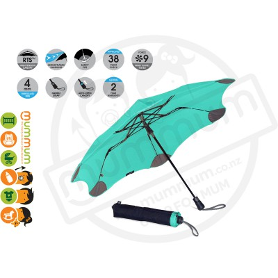 Blunt Umbrella XS Metro Mint Green