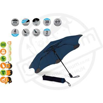 Blunt Umbrella XS Metro Navy Blue