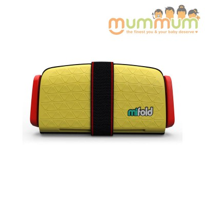 Mifold Travel booster yellow 4+