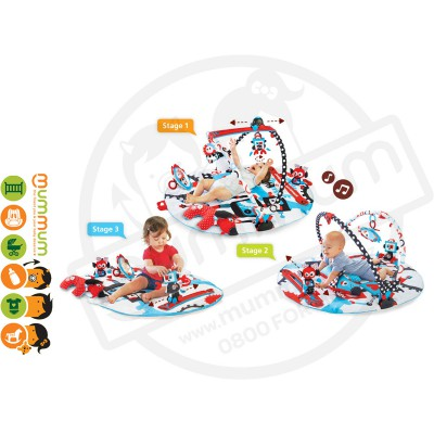 Yookidoo Gymotion Activity Musical Robo Playland