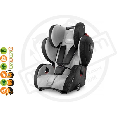 Recaro Young Sport Hero Graphite For 9month-12Years Made in Germany