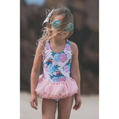 Rock your baby birdie Tulle one piece oatmeal 4-5Y