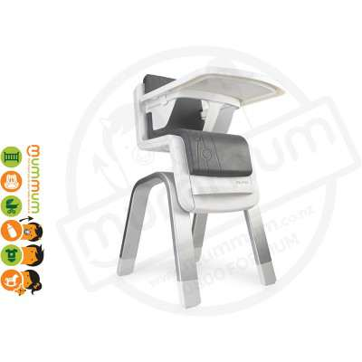 Nuna Zaaz Innovative High Chair Carbon (stock with local supplier, shipping take 3-5 working days)