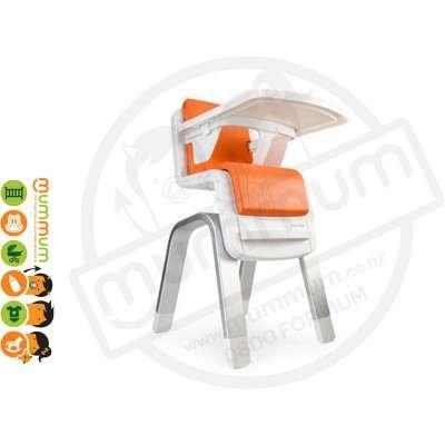 Nuna Zaaz Highchair Orange