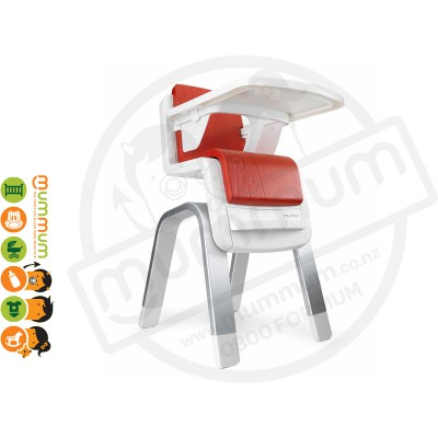 Nuna Zaaz Innovative Baby Highchair Scarlet