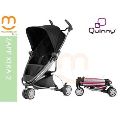 Quinny Zapp Xtra 2 In Black The flexible solution